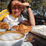 2. Frühstück kurz vor Capodimonte am Lago di Bolsena