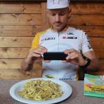 Mittagessen in Rieti: Fettuccine al Tartufo