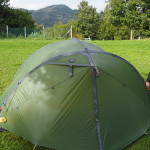 schnell das Zelt aufstellen