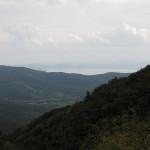 1. Blick zum Lago di Trasimeno