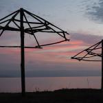 Morgenstimmung beim Frühstück am Lago di Trasimeno