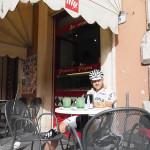 Café-Pause in Cittá della Pieve