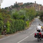 Steilrampe nach Orvieto