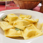 leckeres Mittagessen in Orvieto