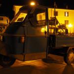 abends unterwegs in Bolsena