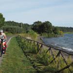 einsam und ruhig am Westufer des Lago di Bolsena entlang