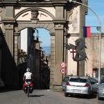 Einfahrt nach Soriano nel Cimino