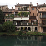 Rieti - am Ufer des Velino