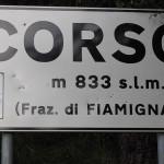 Etappenende in Corso