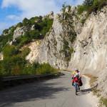 "am Weg zur Passhöhe ""Valico della Forca"""