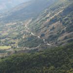 Abfahrt Richtung L'Aquila