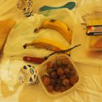 1. Frühstück im Zimmer