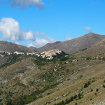 Blick zurück nach Santo Stefano di Sessanio