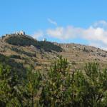 Traumstrecke nach Calascio und Castel del Monte