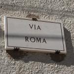 alle Wege führen nach Rom :)
