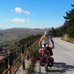 Blick zurück nach Castel del Monte