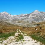 zwischen Castel del Monte und Campo Imperatore