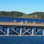 Ponte delle stecche - Lago di Campotosto