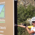 Eintritt in den Parco Nazionale dei Monti Sibillini