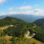 langer Anstieg Richtung Richtung Forca Canapine