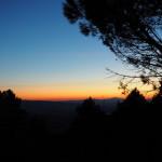 Abendstimmung am Campingplatz Fontemaggio - Assisi