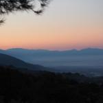 Morgenstimmung am Campingplatz Fontemaggio