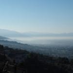 Blick über die Tiefebene des Valle Umbra