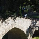 Fahrt über den Ponte dei Galli