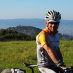 Blick zurück auf Assisi
