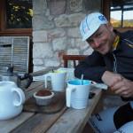 "nette Cafejause im Agriturismo ""Slowcanda"""