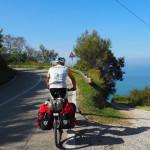 unterwegs auf der Strada Panoramica Adriatica