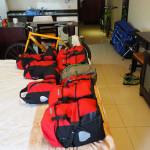 radreise oman 2015 - vorbereitungen im hotel