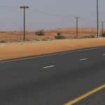 unterwegs auf der E44 (Dubai – Hatta Road)