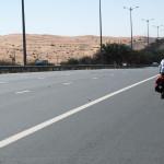 unterwegs auf der E66 (Al Ain – Dubai Road)