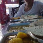 """Handy-Pic: super Mittagessen im indischen """"Vegetarian Restaurant"""" in Al Ain"""