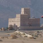 einsames Fort im Oman