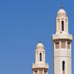 große Moschee in Dhank