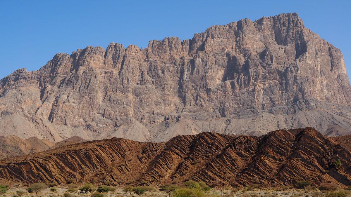 Jebel Misht (Kamm-Berg), 2.000m hoch