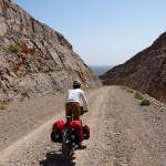 am 1.200m hohen Pass Richtung Oase Wadi Al Ala'