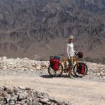 Bergkette zwischen der Oase Wadi Al Ala' und Al Hamra