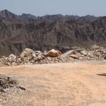 Abfahrt ins ins Wadi Al Ala'