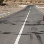 Volkssport der Omanis: Straßen verzieren - das können wir auch!