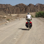 noch ein Schotter-Anstieg am Weg nach Al Hamra
