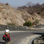 Abfahrt Richtung Al Hamra
