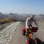 am Weg von Al Hamra nach Al Sharaf