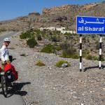 geschafft - auf ca. 1.900m Höhe in Al Sharaf