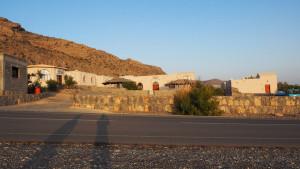 Abendstimmung beim Al Hoota Rest House