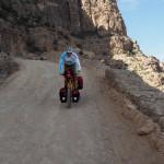 Abfahrt Richtung Al Hajir
