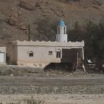 Verwüstungen am Rande des Wadis - am Weg nach Lihban