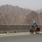 Steigung auf ca. 850m kurz vor Al Masarrah